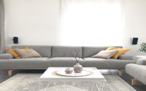 minimalist ev perdeleri